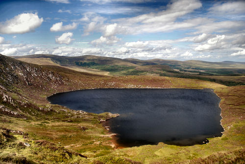 LOUGH OULER / WICKLOW MOUNTIANS/ IRELAND