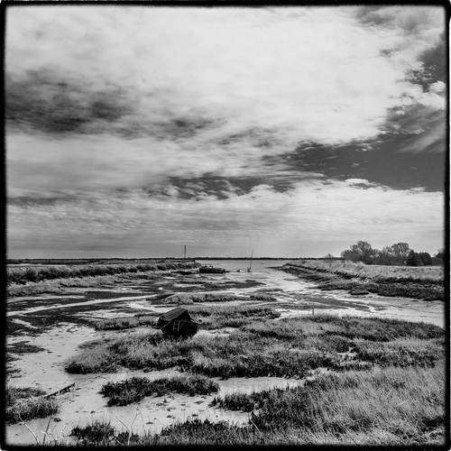 in East Anglia the tide is out