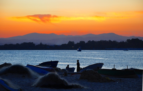 Sunset at Hammamet