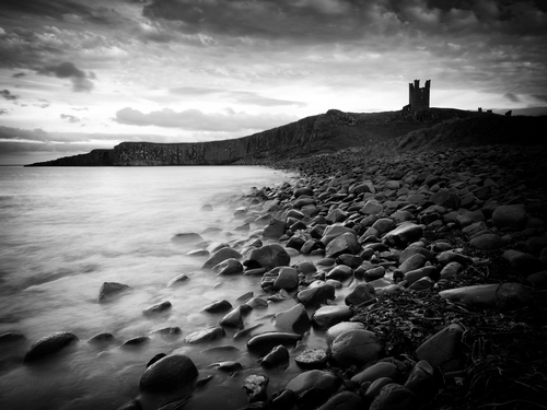 The poetic and romantic ruins of Dunstanburgh Castle.