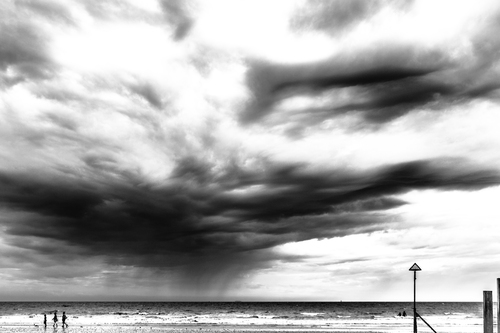 Rain clouds East Wittering