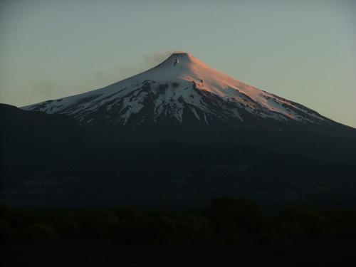 Villarrica volcano, Pucon Chile.
