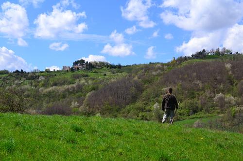 The countryside near the village of Semino, Busalla (Genoa)