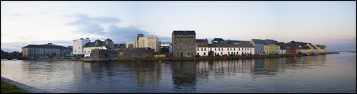 The Long Walk in Galway where I lived for 2 years during college. The spanish arch can also be seen on the left.