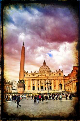 St. Peter's Basilica, Rome from October 2011