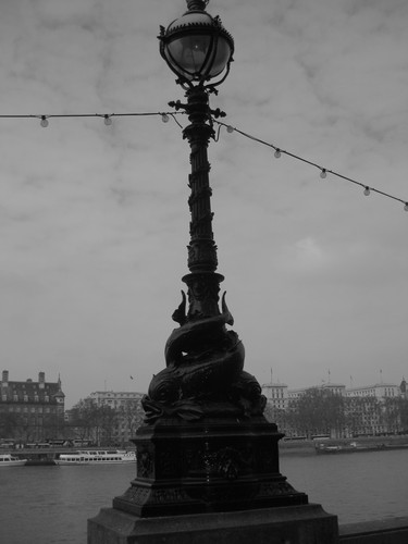Lamp Post along the Thames are some of the most recognized in the world.