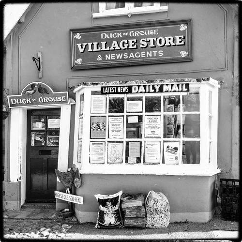 the only shop in a village