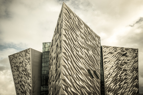 The Titanic Building, Belfast.
