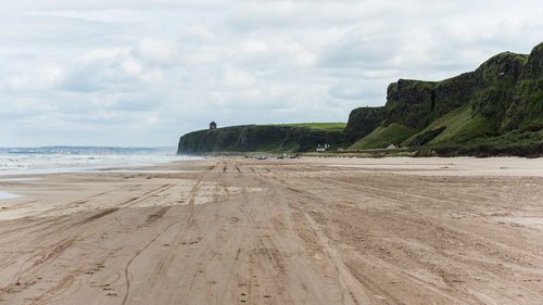 The Mussenden Temple from a different point of view