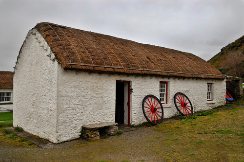 Folk Village, Glencolmcille, Co. Donegal,