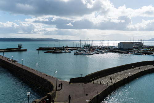 View from Carrickfergus Castle