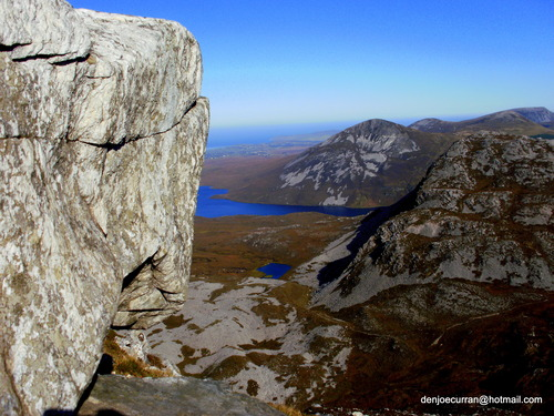 taking from errigal donegals highest mountian 2010