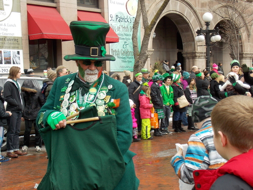 St. Patrick's Day, Saint Paul, Minnesota.