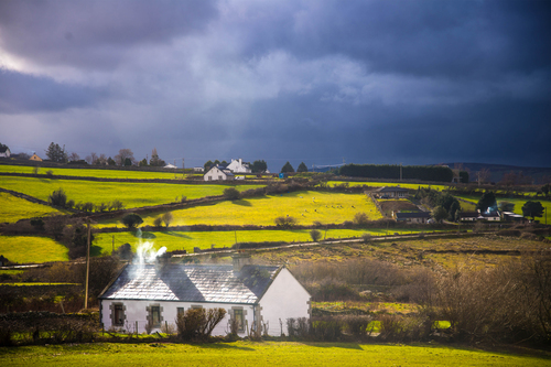 Countryside around Blessington town.