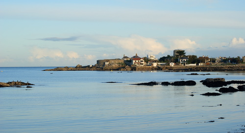 A view of Sandycove and the 40ft swimming area.