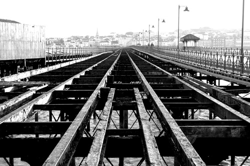 Old railway in Ryde