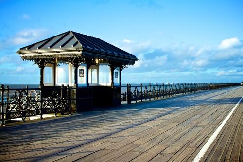 Solitude on Ryde Pier