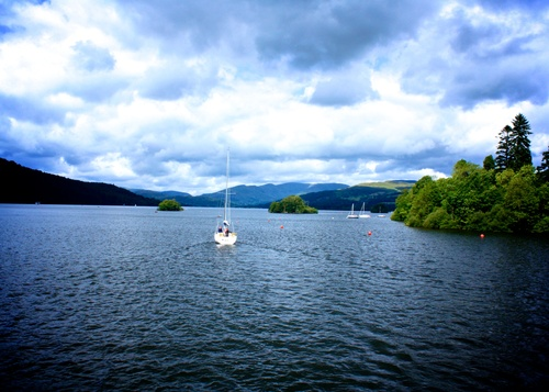 One famous lake in the Lake District