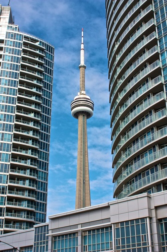 Hide and seek, does the CN Tower play