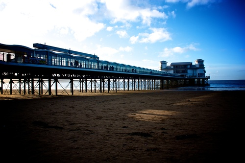 The Grand Pier - never as grand as the once old pier