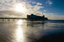 The Grand Pier on Boxing Day