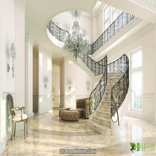 Yantram Interior Design &  Animation studios Expert in highly, Rich, realistic interior CGI design View for Interior designer, Furniture developer, real estate developer..etc