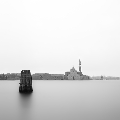 Long exposure on The Giudecca, Venice.