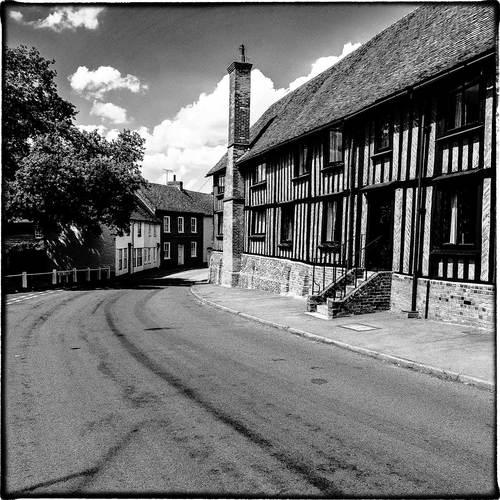 Standon village scene