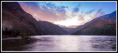 Glendalough sunset