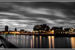 Dublin City by night