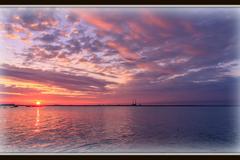 Dún Laoghaire Sunset