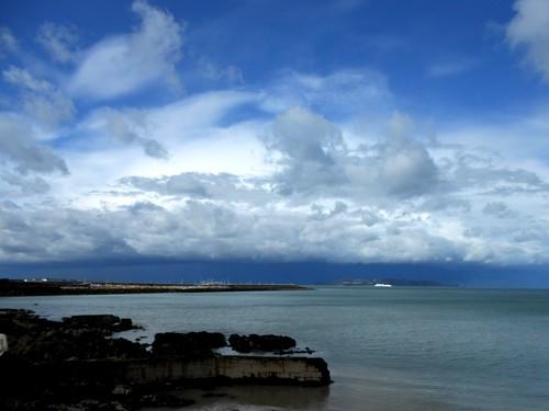 Dun Laoire Harbour, Dublin Bay