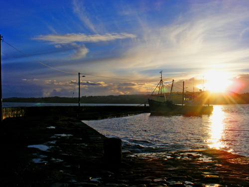 Harbour in Arthurstown, Co.Wexford