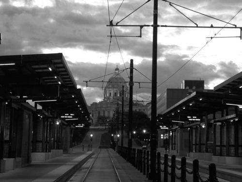 Minnesota State Capitol 1905, Green Line Light Rail 2014