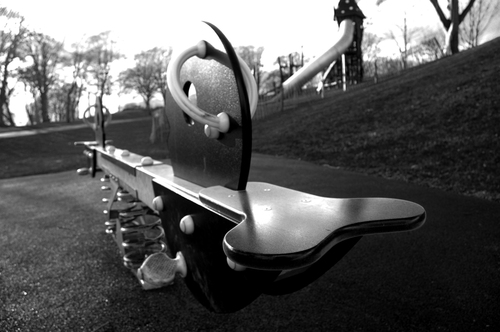 A see-saw from Duthie Park