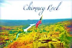 Photography of Chimney Rock, North Carolina, US