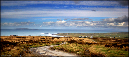 A road I travelled for years on my way to Doolin, Co. Clare