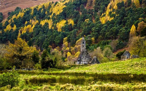 Autumn in Glendalough, Co. Wicklow