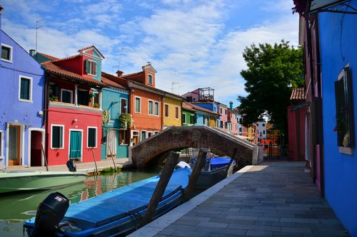 Beautiful Burano on a wonderful September day.