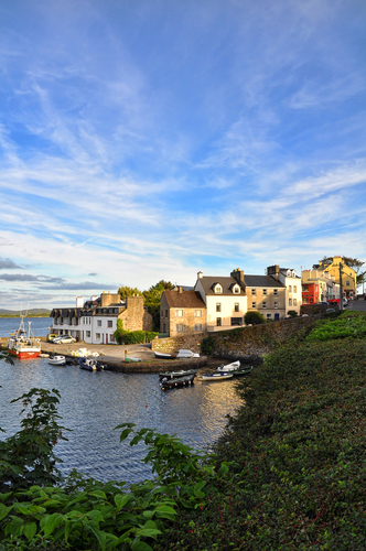 Summer evening in Roundstone