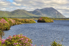 Summer day at Lough Fee Connemara Co. Galway