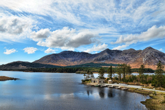Lough Inagh and the Twelve Bens