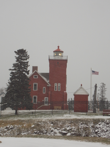 Dating from 1893, this lighthouse is still operational and is also a Bed & Breakfast. It overlooks Agate Bay in Two Harbors.