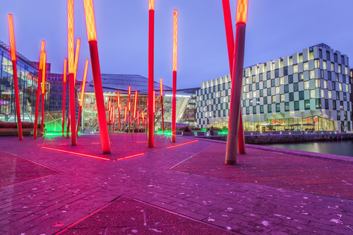 Grand Canal Square, Docklands, Dublin.