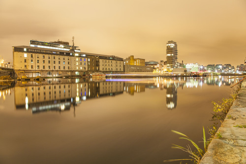 Inner Basin, Grand Canal Dock, Docklands, Dublin.