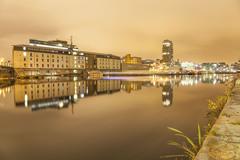Inner Basin, Grand Canal Dock, Docklands, Dublin.