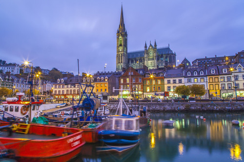 Cobh Harbour, Cork.