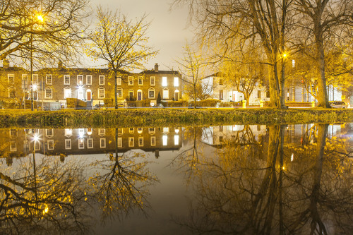 Grand Canal, Wilton Terrace, Dublin.