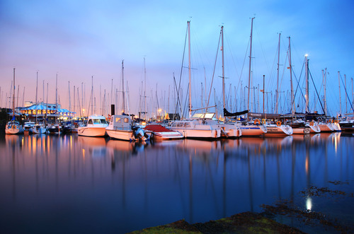 Howth Harbour, Howth, Dublin.