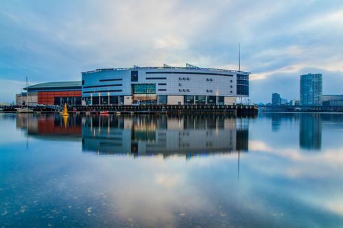Titanic Quarter, River Lagan, Belfast.